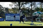 【男子ゴルフ】@正木仁、大槻智春、池田勇太、のスタートホールティショット!第86回 関西オープンゴルフ選手権 1st Round