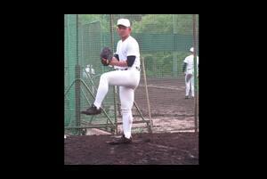 【2018年ドラフト注目選手】大阪桐蔭高・柿木蓮の投球フォーム