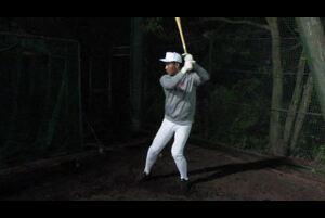 【2018年ドラフト注目選手】大阪桐蔭高・藤原恭大の打撃フォーム