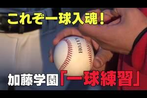 各学校の注目ポイントをピックアップしてお届けするショートクリップ。<br /> 加藤学園(静岡)の「これぞ一球入魂!一球練習」編です。<br /> 【このVTRは大会中止の決定前に取材、制作したものです】