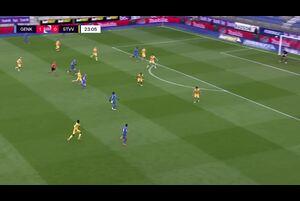 ベルギーリーグ第33節RCゲンク vs シント・トラウデンVVのハイライト動画です。<br /> 試合詳細:https://soccer.yahoo.co.jp/ws/game/top/20112512