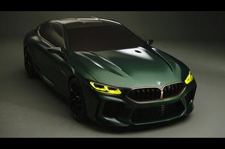 BMW コンセプト M8 グランクーペ(公式PV)