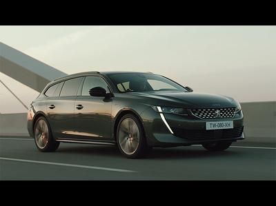 プジョー、新型508にスタイリッシュなワゴンを追加(公式プロモーションビデオ)