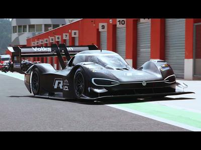 フォルクスワーゲン、パイクスピークに挑む新型EVレースカーを披露(公式プロモーションビデオ)