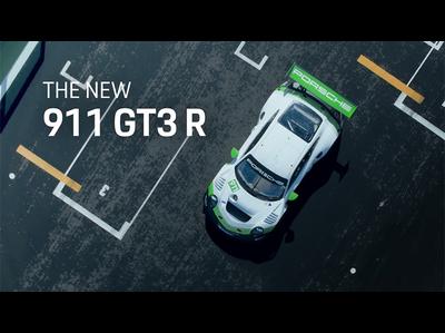 ポルシェが911 GT3 Rの新型を発表(公式プロモーションビデオ)