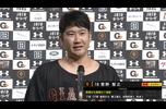 8/12【巨人vsヤクルト】菅野 ヒーローインタビュー