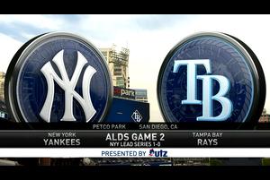 【スポーツナビMLB】<br /> 現地時間10月6日に行われた、レイズvs.ヤンキースのアメリカン・リーグのディビジョンシリーズ第2戦のダイジェスト。