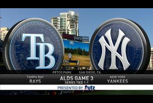 【MLB】ヤンキースvs.レイズ 10/8 ダイジェスト