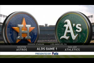 【MLB】試合ダイジェスト 10/6 アスレチックス vs.アストロズ