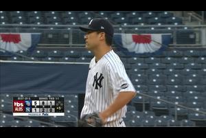 【MLB】5回表 田中将大 先頭のアロサレーナに被弾し降板 10/8 ヤンキースvs.レイズ