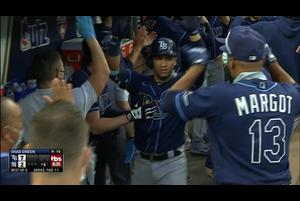 【MLB】6回表 ぺレスの2ランホームラン 10/8 ヤンキースvs.レイズ