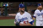 【MLB】4回表 素晴らしい投球を見せるウッド 10/28 ドジャースvs.レイズ