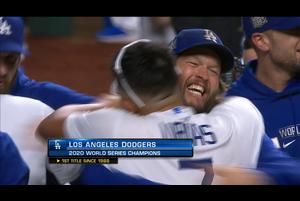 【MLB】9回表 ドジャースが32年振りにワールドシリーズを制覇!! 10/28 ドジャースvs.レイズ