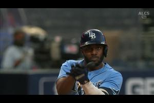 【MLB】4回裏 アロサレーナの同点ソロホームラン!! 10/12 レイズvs.アストロズ