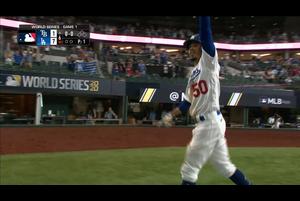 【MLB】6回裏 ベッツのソロホームラン!! 10/21 ドジャースvs.レイズ
