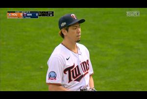 【MLB】3回表 前田健太 三者凡退に抑える 9/30 ツインズvsアストロズ