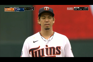【MLB】5回表 前田健太 僅か10球で三者凡退に抑える 9/30 ツインズvs.アストロズ