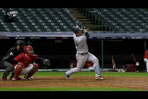 【MLB】6回表 サンチェスの1号勝ち越し2ランホームラン 10/1 インディアンスvs.ヤンキース