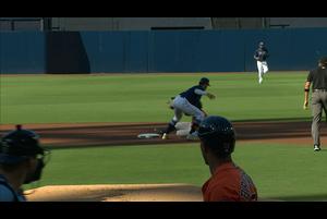 【MLB】1回表 三振ゲッツーを取るレイズ 10/17 レイズvs.アストロズ