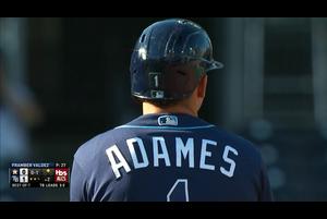 【MLB】2回裏 アダメスの先制タイムリーツーベース 10/17 レイズvs.アストロズ