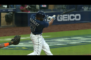 【MLB】7回裏 マルゴのソロホームラン 10/17 レイズvs.アストロズ