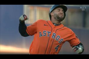 【MLB】5回表 スプリンガーの逆転タイムリーヒット 10/17 レイズvs.アストロズ