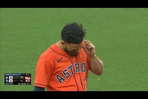 【MLB】5回表 アルトゥーベのタイムリーツーベース 10/17 レイズvs.アストロズ