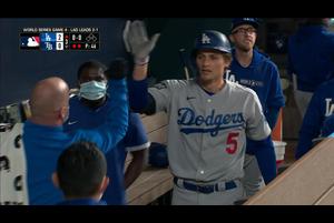 【MLB】3回表 シーガーの8号ホームラン 10/25 レイズvs.ドジャース