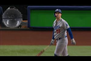 【MLB】2回表 ピーダーソンのソロホームラン 10/26 レイズvs.ドジャース