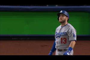 【MLB】5回表 マンシーのソロホームラン 10/26 レイズvs.ドジャース