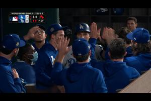 【MLB】1回表 ベリンジャーのタイムリーヒット 10/26 レイズvs.ドジャース