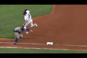 【MLB】8回表 再び素晴らしい守備を見せるチェ・ジマン 10/24 レイズvs.ドジャース