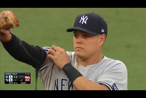 【MLB】2回裏 2つの華麗なプレーを見せるウルシェラ 10/6 レイズvs.ヤンキース