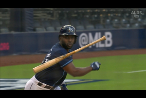 【MLB】1回裏 アロサレーナの同点ソロホームラン 10/6 レイズvs.ヤンキース