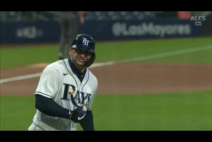 【MLB】2回裏 ズニーノのソロホームラン 10/18 レイズvs.アストロズ