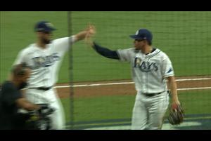 【MLB】7回表 ダブルプレーでピンチを切り抜けるレイズ 10/18 レイズvs.アストロズ