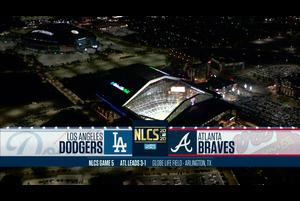 【MLB】ブレーブスvs.ドジャース 10/17 ダイジェスト