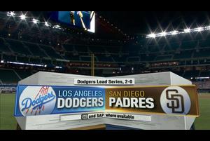 【MLB】パドレス vs.ドジャース 10/9 ダイジェスト