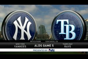 【スポーツナビMLB】<br /> 現地時間10月9日に行われた、レイズvs.ヤンキースのALDS第5戦のダイジェスト。