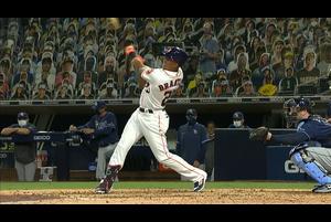 【MLB】6回裏 ブラントリーのソロホームラン 10/14 アストロズvs.レイズ