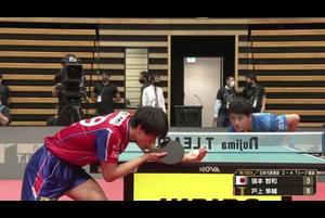【ハイライト】張本智和vs戸上隼輔|ドリームマッチ 日本代表選抜vsTリーグ選抜 第7試合