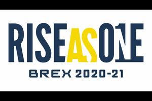 """©TOCHIGI BREX INC.<br /> 宇都宮ブレックス シーズンスローガン RISE AS ONE を発表<br /> 宇都宮ブレックス2020年8月23日<br /> RISE AS ONEとは、「ともに立ち上がる」、「ともに立ち向かう」などの意。<br />  <br /> 2019-20シーズンは、新型コロナウイルスの影響によりシーズンが中断。ブレックスは、31勝9敗という結果を残したものの、目標としていたBリーグチャンピオンに向けた戦いは途中で打ち切られ、悔しい形でシーズンが終了してしまいました。また多くのホームゲーム開催機会が失われ、経営的にも大きなダメージを受ける結果となりました。<br />  <br /> 20チーム東西2地区制という新たなフォーマットで行われる2020-21シーズンを迎えるにあたり、「地区優勝」そして最大の目標である「Bリーグ チャンピオン」に向け、新型コロナウイルスの影響も残る厳しい環境ではあるものの、ファンやスポンサーをはじめとしたブレックスに関わる全ての皆様とともにこの苦しい状況から立ち上がり、「BREX NATION一丸となってこの大きなチャレンジに立ち向かっていこう」という想いを込めて、2020-21シーズンのスローガンを""""RISE AS ONE""""に決定しました。<br />  <br /> 運営面において、安定的に試合を開催し、長いシーズンを戦い抜くためには、まずは私達(選手や運営スタッフ)が感染症対策を徹底することが第一ですが、一方で入場の制限や、応援スタイルの制限等が予想され、ファンの皆様のご理解とご協力が不可欠となってきます。シーズンをしっかりと戦い抜くため、BREX NATIONの全ての皆さまの力を合わていくことが何よりも大切なシーズンです。<br />  <br /> 様々な制限や制約があり、先行きも見通せないシーズンになりますが、この状況でも皆さまとともに常に上を向き、ブレックスメンタリティーを胸に戦っていきたいと考えています。その結果として、バスケットボールを通じて一人でも多くの人に元気や勇気を与えられるようなシーズンにしていきます。"""