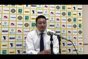 2020/10/3(土)にブレックスアリーナ宇都宮(栃木県宇都宮市)で開催された、琉球ゴールデンキングスとの2020-21シーズンの開幕戦後の安齋竜三ヘッドコーチの会見です。