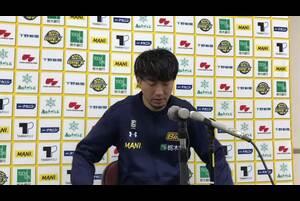 2020/10/3(土)にブレックスアリーナ宇都宮(栃木県宇都宮市)で開催された、琉球ゴールデンキングスとの2020-21シーズンの開幕戦後の#6 比江島 慎選手の会見です。