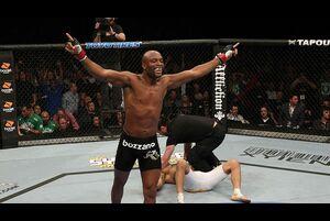 【UFC】ビトー・ベウフォートが膝から崩れ落ちる衝撃的KOを披露したアンデウソン・シウバ