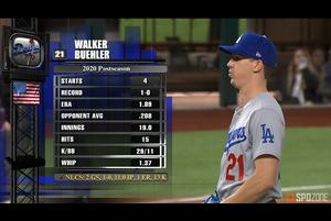 【SPOZONE MLB】<br /> 6回1失点10奪三振と圧倒的のピッチングでチームを勝利に導いた、ドジャースのウォーカー・ビューラーがSPOZONE Today's Match MVPに選出!!