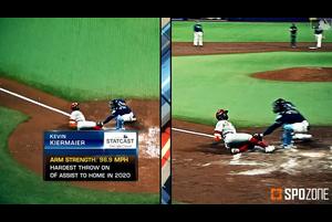【SPOZONE MLB】<br /> MLB公式サイトで今シーズンの好返球映像集が公開されました。