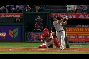 【SPOZONE MLB】<br /> 日本時間3日に行われたエンゼルス戦の3回表二死満塁でホワイトソックスのホゼ・アブレイユがグランドスラムを放ちエンゼルスに逆転。