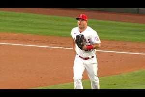 【MLB】エンゼルスの開幕戦勝利に大いに貢献したマイク・トラウト 4.2