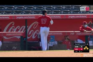 【MLB】大谷翔平 無死満塁のチャンスで迎えた第3打席はサードフライに終わる 3.2